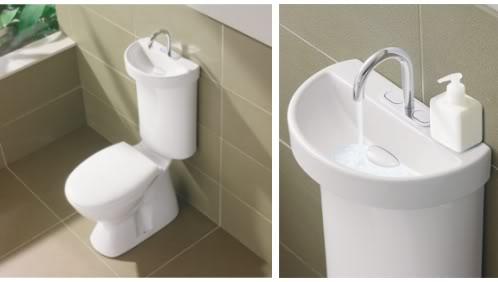 Inodoro lavamanos cleanpress for Lavabo de manos