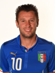 10. Antonio Cassano
