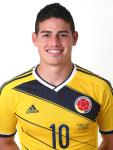 10. James Rodriguez